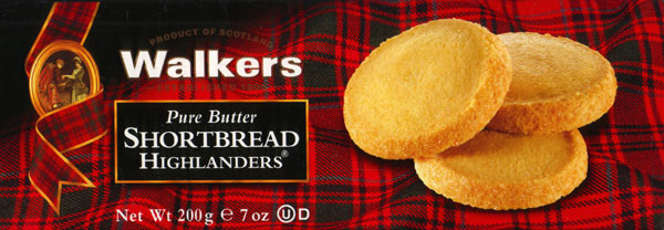 Walkers Kekse Shortbread Highlanders