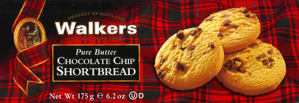 Walkers Kekse Chocolate Chip Shortbread