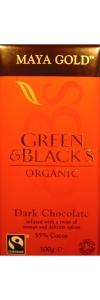 Schokolade MAYA GOLD von Green & Black`s Bio