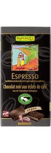 Zartbitterschokolade Espresso Bio