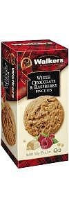 Walkers Kekse White Chocolate Raspberry 150g