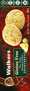 Walkers Kekse Gluten Free Ginger & Lemon 140g
